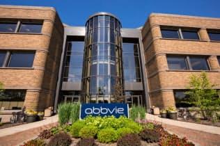 アッヴィの主力薬ヒュミラは2018年に単一医薬品として世界最大の約200億ドルを売り上げた(米シカゴの本社)