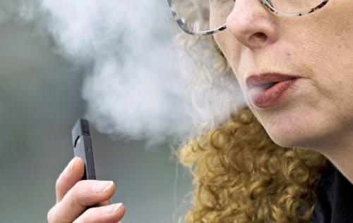 サンフランシスコ市には電子たばこで急成長しているスタートアップ企業のJUUL Labs(ジュール・ラブズ)が本社を構える=AP