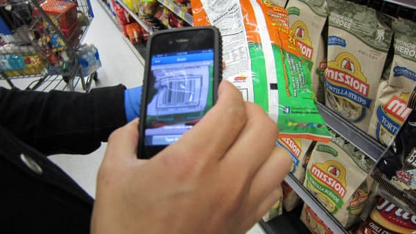 米ウォルマートが導入した「スキャン・アンド・ゴー」システム(2013年)