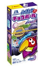森永製菓が7月に発売する「ハイチュウっぽいチョコボール」