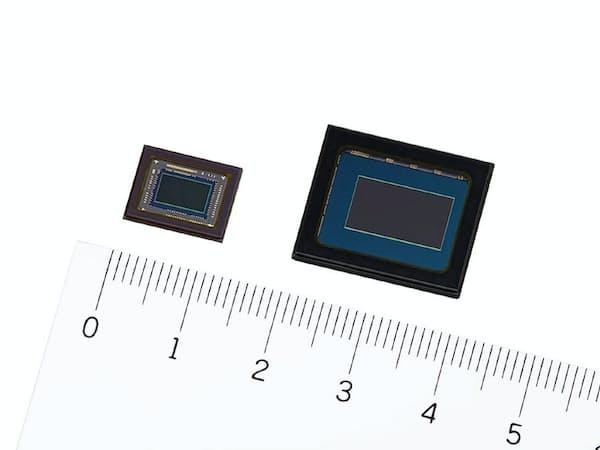 セキュリティカメラ向けのイメージセンサー2機種を商品化した
