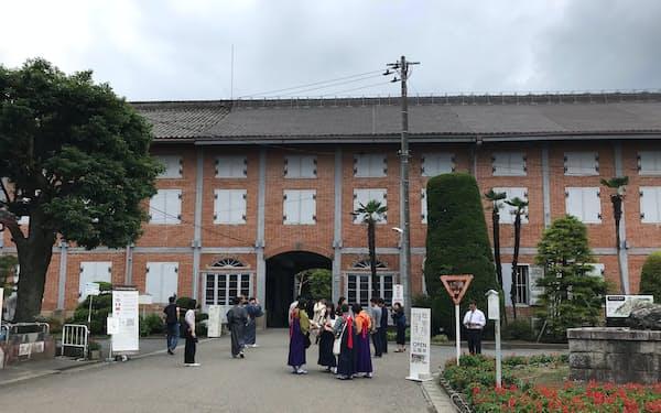 世界遺産登録5周年を迎えた富岡製糸場(群馬県富岡市)