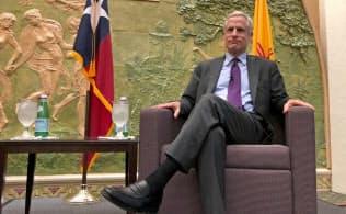 ダラス連邦準備銀行のロバート・カプラン総裁(米テキサス州)=ロイター