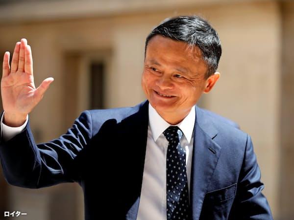 アリババ創業者の馬雲会長は9月に退任する=ロイター