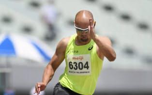 山本は5月に日本記録を更新。コンディションなどが整えば「世界記録は簡単にいける」と語る