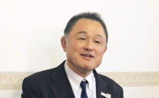 JOC新会長に選ばれた山下泰裕氏=共同