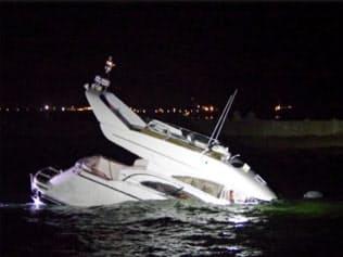 各地でプレジャーボートの事故が相次ぐ=海上保安庁提供