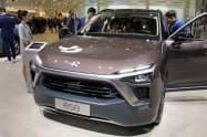 リコール対象となったNIOの多目的スポーツ車(SUV)「ES8」(4月の上海モーターショー)
