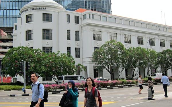 シンガポール国際仲裁センターが入る建物