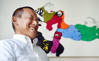 デザイナーで社会福祉法人理事長の今中博之さん(写真・目良友樹)
