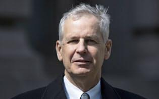 米ディッシュ・ネットワークのチャールズ・アーゲン会長(2014年撮影、ニューヨーク)=ロイター
