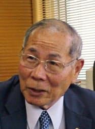浜松商工会議所の大須賀正孝会頭(ハマキョウレックス会長)