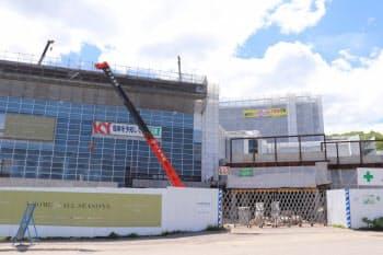 上昇率全国トップとなったニセコでは外資が進出し、開発が進んでいる(北海道倶知安町)