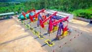 中国石油天然気集団の油田(SNSの公式アカウントから)
