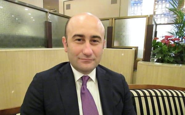 ベシクタシュのフセイン・ユジュル副会長