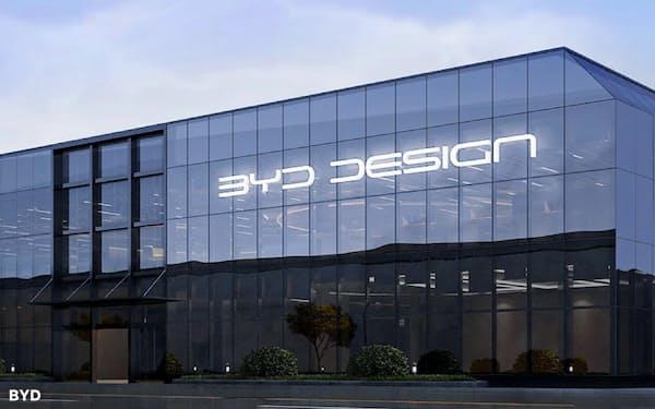 中国EV最大手のBYDは約200人のデザイナーを収容する拠点を新設した(広東省深圳市)