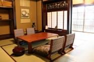 粂屋では江戸時代に家臣が宿泊した部屋も楽しめる(小諸市)