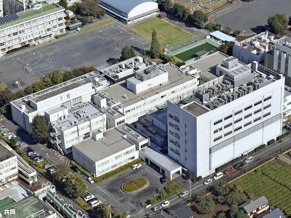 国立感染症研究所村山庁舎(東京都武蔵村山市)=共同