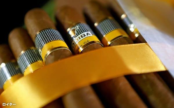 キューバ産の葉巻ブランド「コイバ」=ロイター