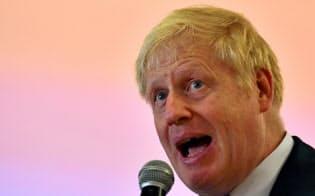 英首相候補最有力のジョンソン氏=ロイター