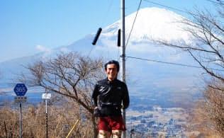 富士山の頂上に思いをはせながら箱根路で追い込む
