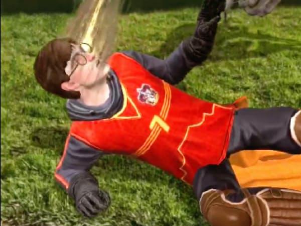 ARゲーム「ハリー・ポッター:魔法同盟」の画面