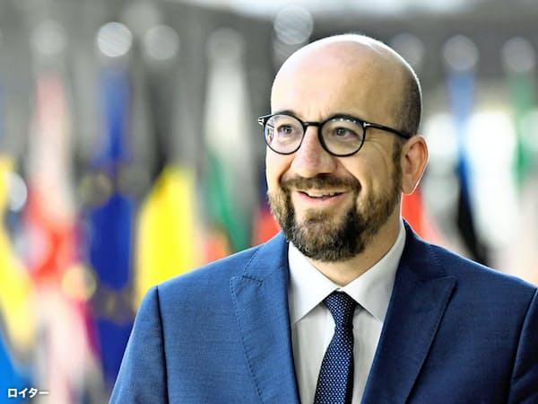 EU大統領に内定したベルギーのミシェル首相=ロイター