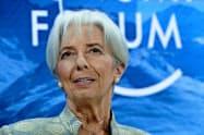 欧州中央銀行(ECB)総裁に内定した国際通貨基金(IMF)のラガルド専務理事=AP