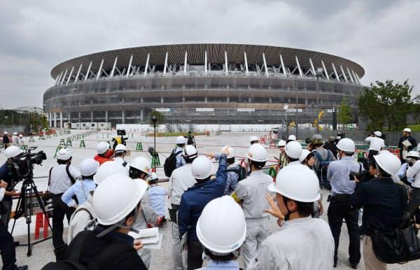 大会後はサッカーやラグビーなど球技専用の8万席規模の施設となる