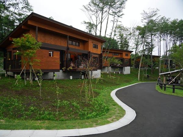 プリンスホテルが8日に開業する会員制ホテル「プリンス・バケーション・クラブ ヴィラ軽井沢浅間」