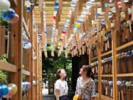 職人手作りの風鈴で境内を鮮やかに彩る(川越氷川神社)
