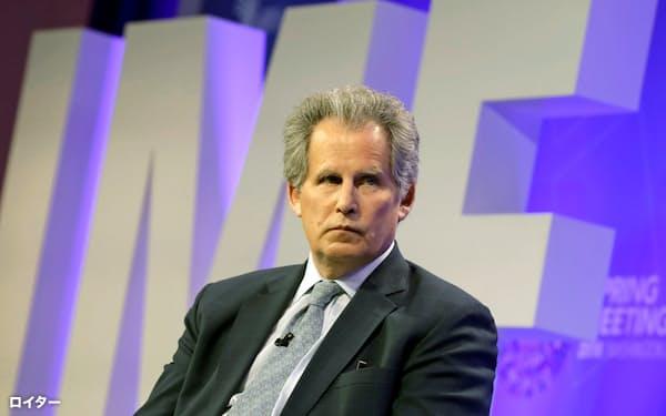 IMFが専務理事代行に決めたリプトン筆頭副専務理事=ロイター