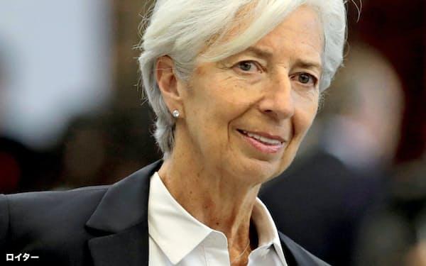 ECB次期総裁に選ばれたラガルドIMF専務理事=ロイター