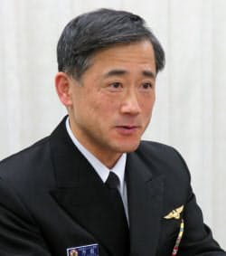 指揮通信システム部長の市田