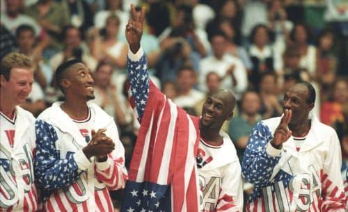 「ドリームチーム」を送り込んだ米国は全8試合で圧勝し金メダルを獲得=ロイター