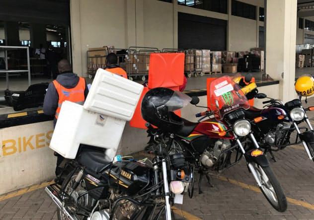 豊田通商は物流で商機を探る(同社が買収した仏大手商社「CFAO」が出資するSendyのケニアの拠点)