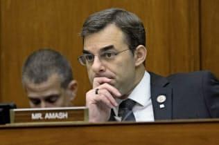 米共和党のアマーシュ下院議員はトランプ大統領の弾劾を求めていた=AP
