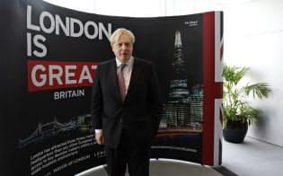 ロンドン市長時代のボリス・ジョンソン氏=ロイター