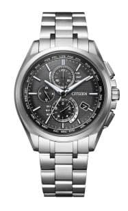 シチズン時計が4日からカスタマイズサービスを始めた人気モデル「AT8040」