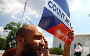 国勢調査での「国籍項目」追加は、米国内で物議を醸している=ロイター