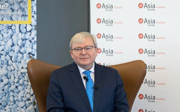 Kevin Rudd 07~10年、13年にオーストラリア首相。外交官出身で、外相経験も持つ。流ちょうな中国語を話し、中国通として知られる。15年現職。