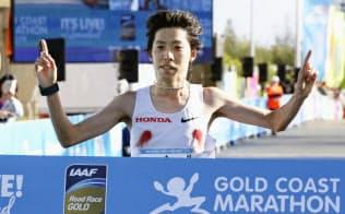 設楽が優勝、川内は13位 ゴールドコーストマラソン