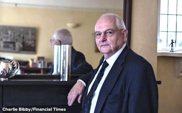 マーティン・ウルフ、チーフ・エコノミクス・コメンテーター(写真は Charlie Bibby/Financial Times)