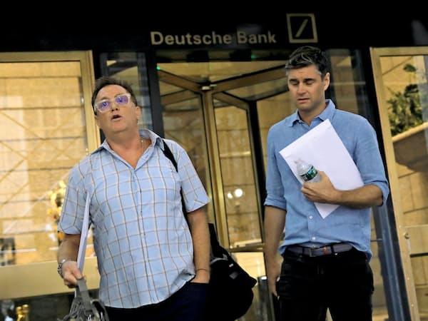 ドイツ銀は8日からリストラを始めた(ドイツ銀NY拠点が入るビル)=ロイター