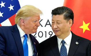 米中首脳は貿易協議の再開で合意しているが…=ロイター