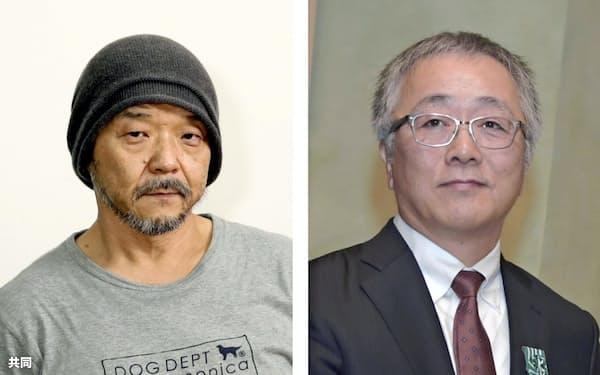 新しくアカデミー会員に招待された押井守氏(左)と大友克洋氏=共同