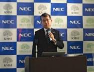 NECの中俣力執行役員常務