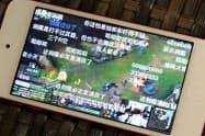 闘魚はゲームのライブ配信で多くの視聴者を獲得している(同社のアプリ)