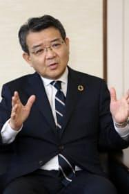 関西みらいフィナンシャルグループの菅哲哉社長は「顧客にとって経営統合で何が変わったかが重要だ」と語る