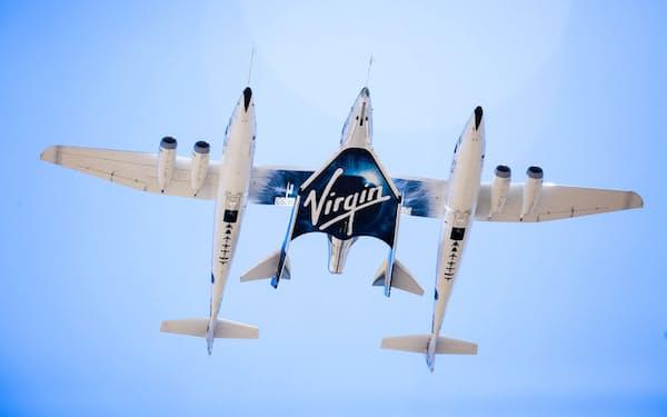 ヴァージン・ギャラクティックは2020年に宇宙旅行サービスを始める計画=同社提供